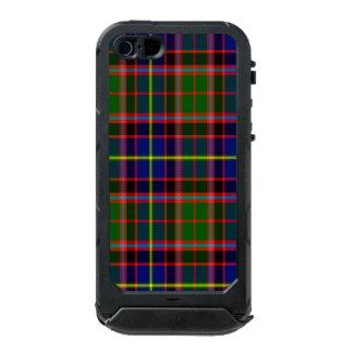 Tartán del escocés de Aikenhead Carcasa De Iphone 5 Incipio Atlas Id