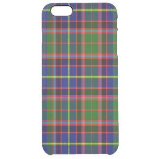 Tartán del escocés de Aikenhead Funda Clearly™ Deflector Para iPhone 6 Plus De Unc