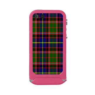 Tartán del escocés de Aikenhead Funda Para iPhone 5 Incipio ATLAS ID