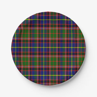 Tartán del escocés de Aikenhead Platos De Papel
