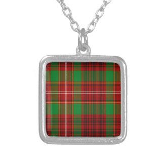 Tartán del escocés de Ainslie Colgante Cuadrado