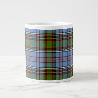 Tartán del escocés de Andie Taza De Café Grande
