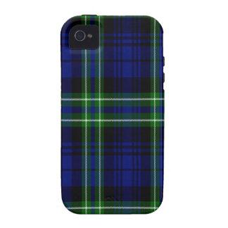 Tartán del escocés de Arbuthnot iPhone 4/4S Carcasas