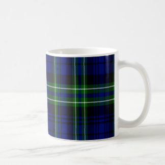 Tartán del escocés de Arbuthnot Taza Básica Blanca