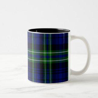 Tartán del escocés de Arbuthnot Taza Dos Tonos