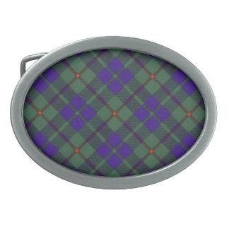 Tartán del escocés de Barclay Hebilla De Cinturon
