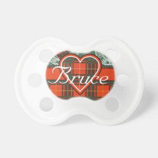 Tartán del escocés de Bruce Chupetes Para Bebés