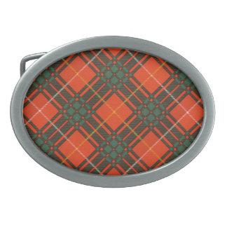 Tartán del escocés de Bruce Hebilla De Cinturon