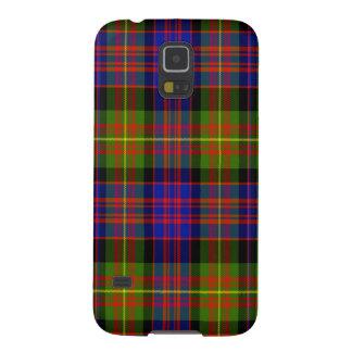 Tartán del escocés de Carnegie Carcasas De Galaxy S5
