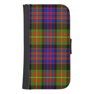 Tartán del escocés de Carnegie Cartera Para Galaxy S4