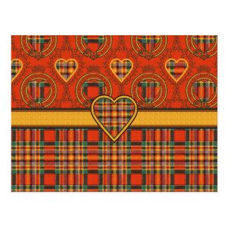 Tartán del escocés de Chattan Postales
