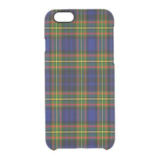 Tartán del escocés de Clelland Funda Clearly™ Deflector Para iPhone 6 De Uncommon