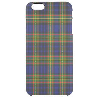 Tartán del escocés de Clelland Funda Clearly™ Deflector Para iPhone 6 Plus De Unc