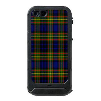 Tartán del escocés de Clelland Funda Para iPhone 5 Incipio ATLAS ID