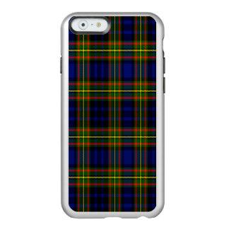 Tartán del escocés de Clelland Funda Para iPhone 6 Plus Incipio Feather Shine