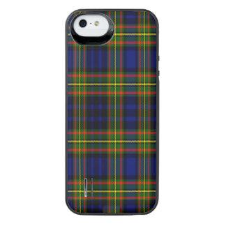 Tartán del escocés de Clelland Funda Power Gallery™ Para iPhone 5 De Uncommon