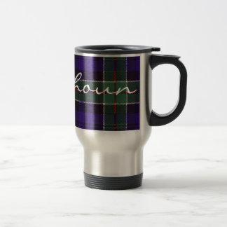 Tartán del escocés de Colquhoun Tazas