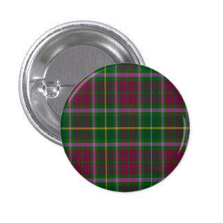 Tartán del escocés de Crosbie Pin Redondo 2,5 Cm