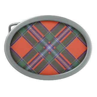 Tartán del escocés de Drummond Hebilla De Cinturon