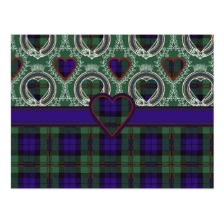 Tartán del escocés de Dundas Postal
