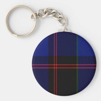 Tartán del escocés de Eaton Llavero Redondo Tipo Pin