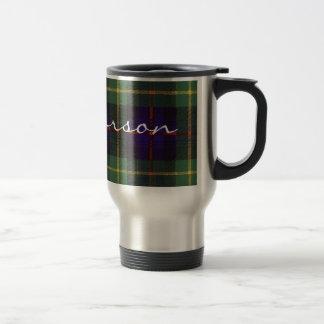 Tartán del escocés de Farquarson Tazas De Café
