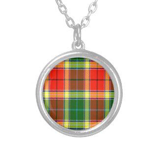 Tartán del escocés de Gibbs Colgante Redondo