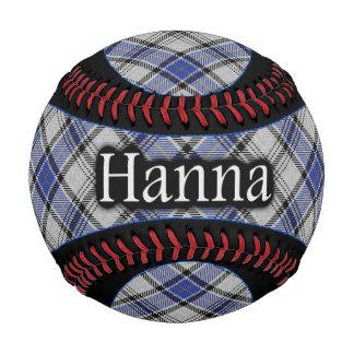 Tartán del escocés de Hannay Hanna del clan