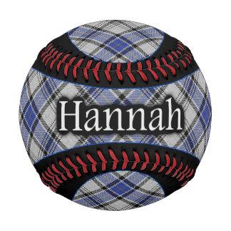 Tartán del escocés de Hannay Hannah del clan