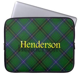 Tartán del escocés de Henderson del clan Fundas Computadoras