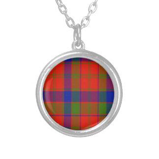 Tartán del escocés de Hobson Pendiente Personalizado