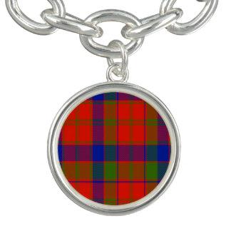 Tartán del escocés de Hobson Pulseras