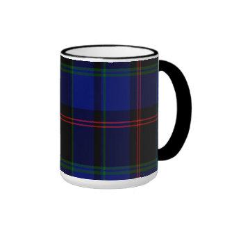 Tartán del escocés de Holmes Taza De Café