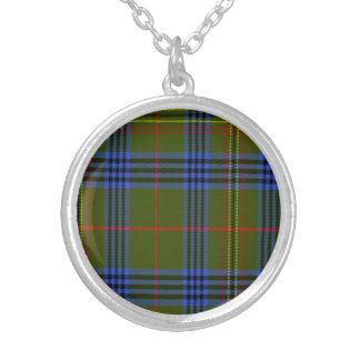 Tartán del escocés de Kennedy Pendiente Personalizado