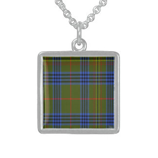 Tartán del escocés de Kennedy Pendientes Personalizados
