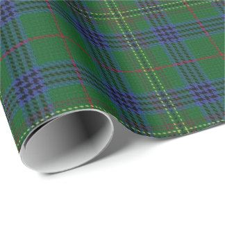 Tartán del escocés de Kennedy del clan Papel De Regalo