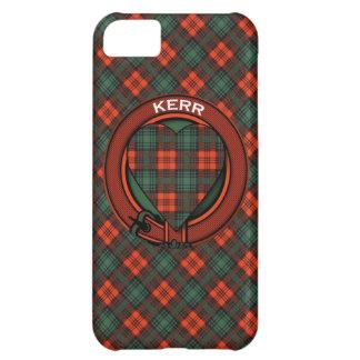 Tartán del escocés de Kerr Carcasa Para iPhone 5C