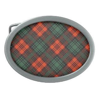 Tartán del escocés de Kerr Hebilla De Cinturon