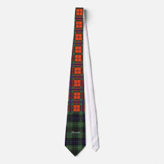 Tartán del escocés de la tela escocesa de la caza corbata personalizada