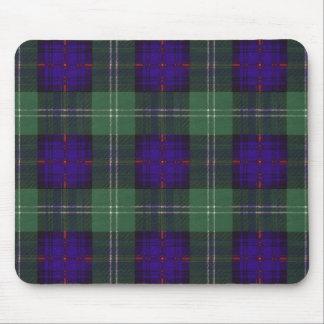 Tartán del escocés de la tela escocesa del clan de alfombrilla de raton