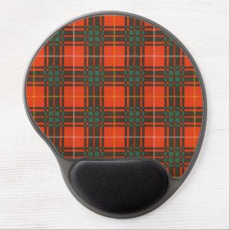 Tartán del escocés de la tela escocesa del clan de alfombrillas de ratón con gel