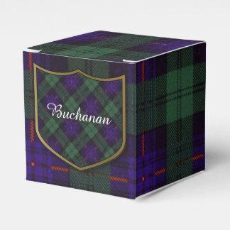 Tartán del escocés de la tela escocesa del clan de cajas para regalos
