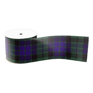 Tartán del escocés de la tela escocesa del clan de lazo de tela gruesa