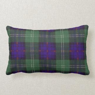 Tartán del escocés de la tela escocesa del clan de cojines
