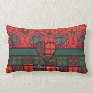Tartán del escocés de la tela escocesa del clan de cojin