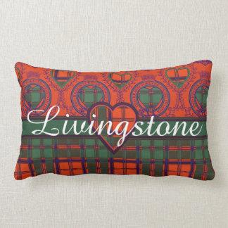 Tartán del escocés de la tela escocesa del clan de almohada