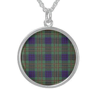 Tartán del escocés de la tela escocesa del clan de collares de plata esterlina