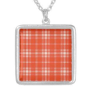 Tartán del escocés de la tela escocesa del clan de colgante cuadrado