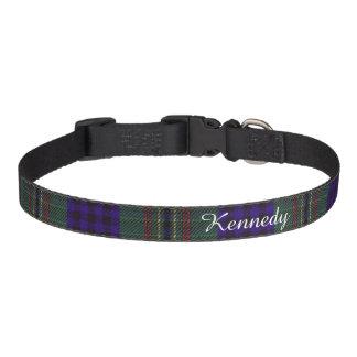Tartán del escocés de la tela escocesa del clan de collares de perro