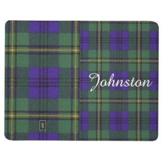 Tartán del escocés de la tela escocesa del clan de cuaderno